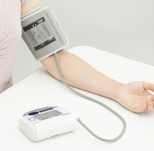 電子血圧計の写真