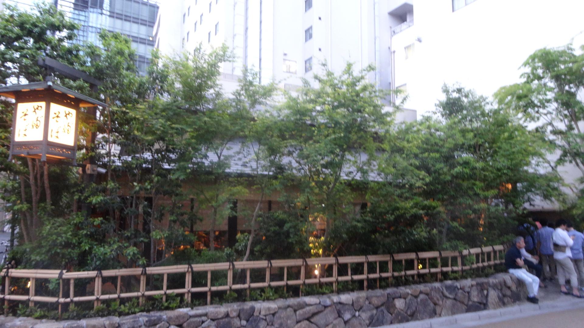 神田の藪そばの外観