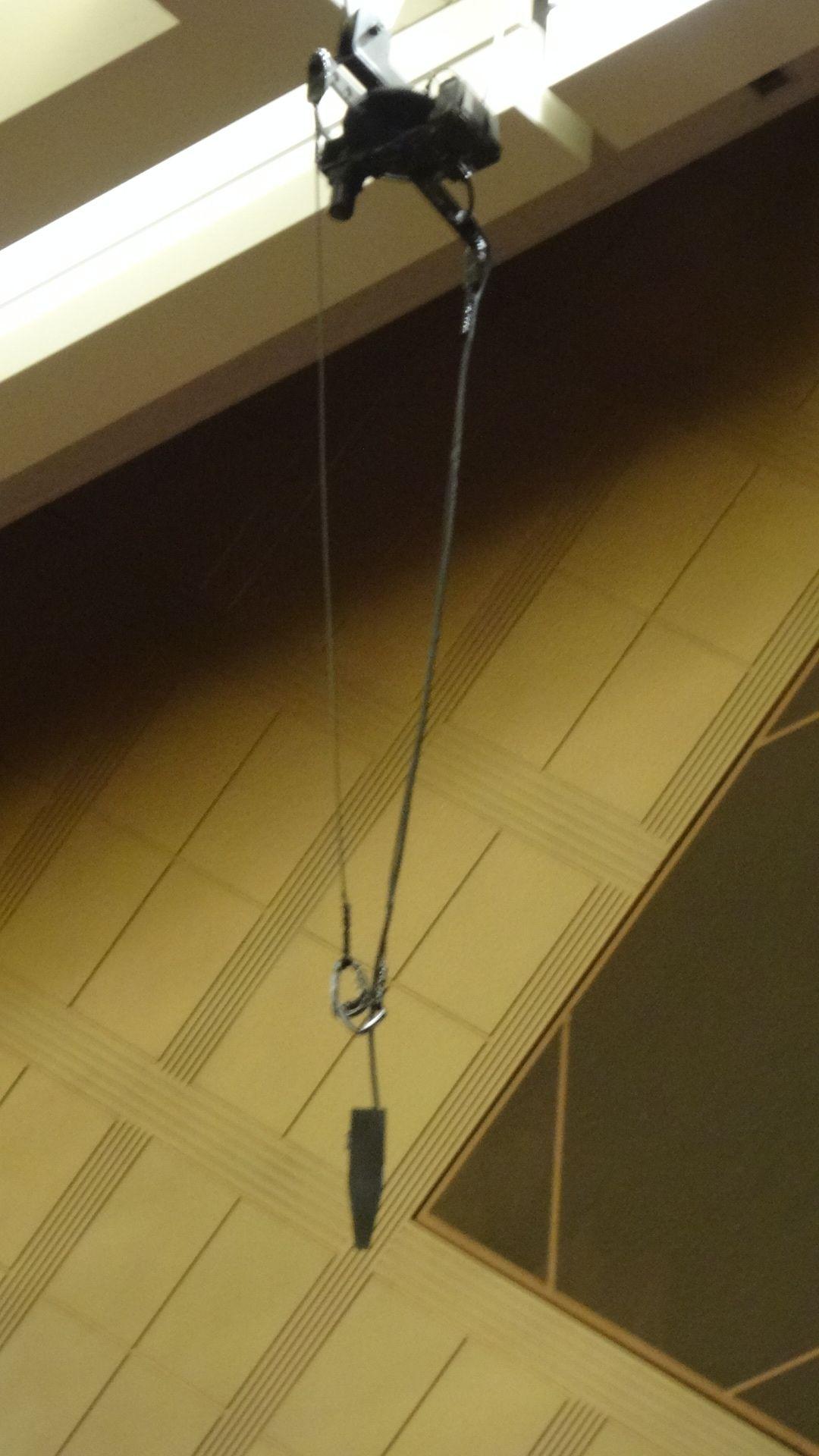 天井の滑車