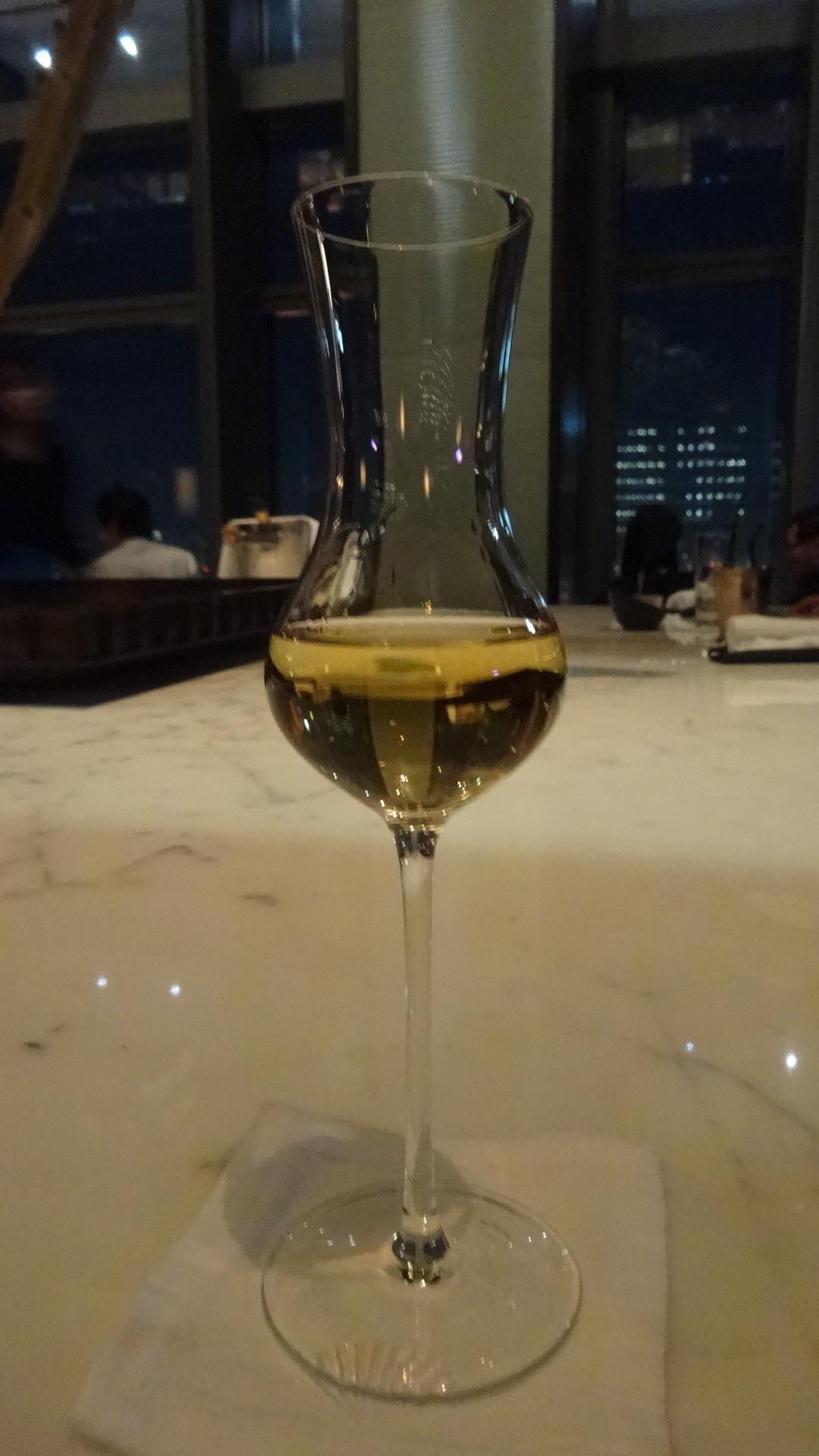 ホテルのバーで飲んだグラッパ