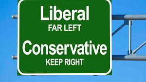 保守 レベラル とそれぞれ書かれたカード