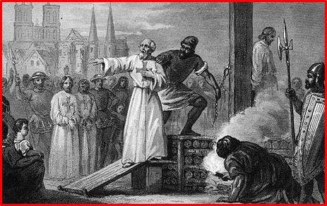 処刑されるテンプル騎士団