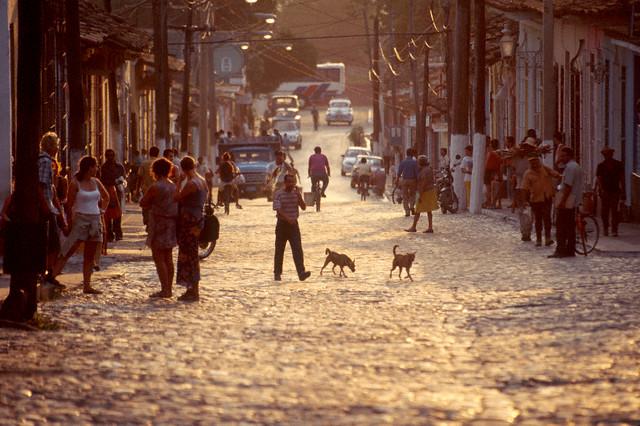 キューバの街の写真
