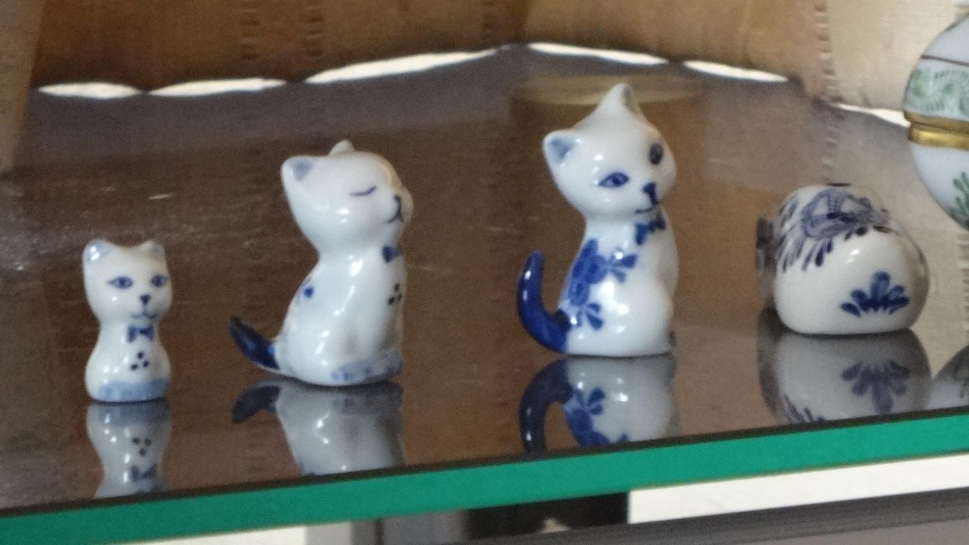 3匹のネコの写真