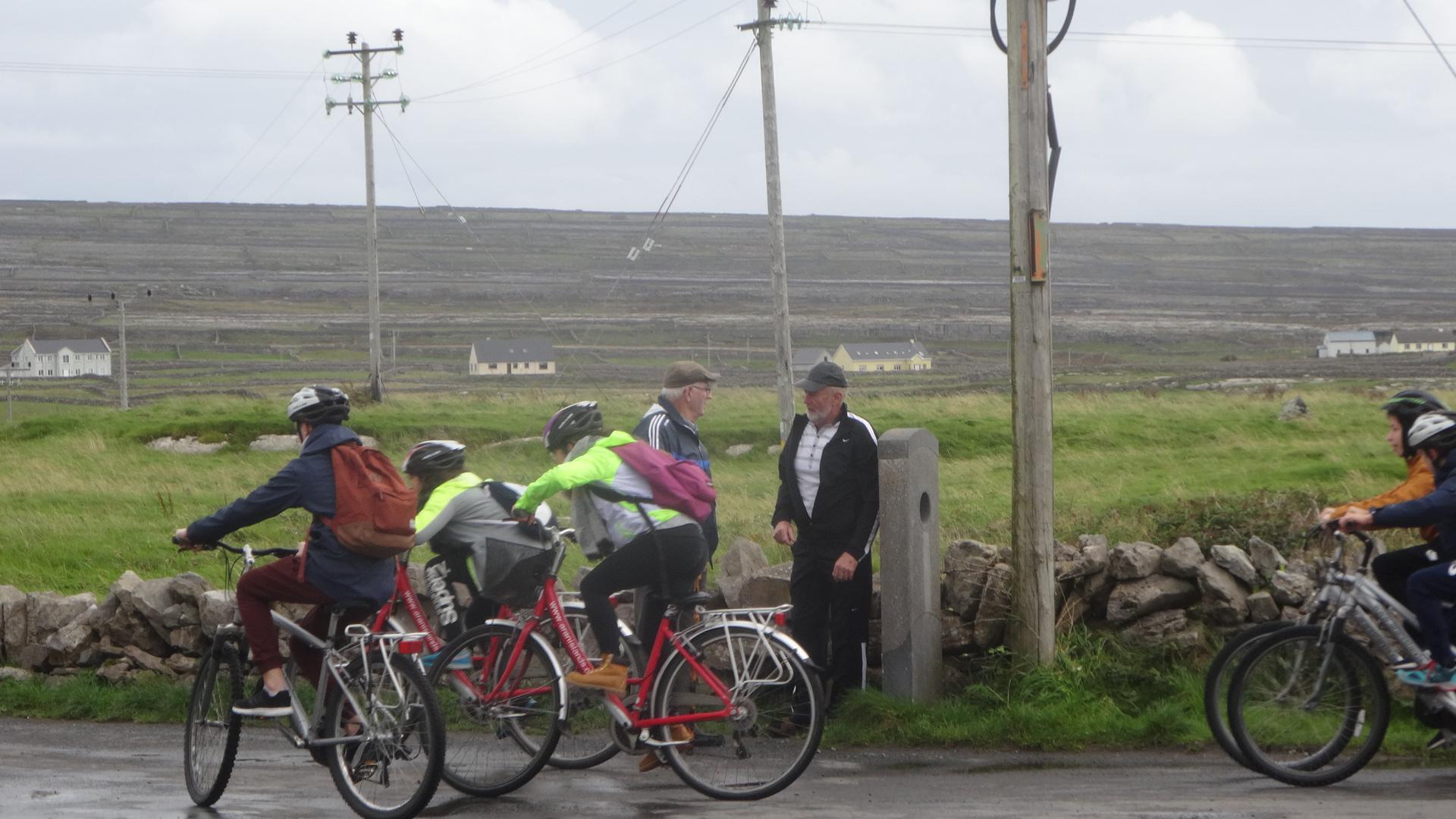 元気なサイクリング隊