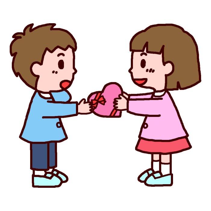 バレンタインデーの画像