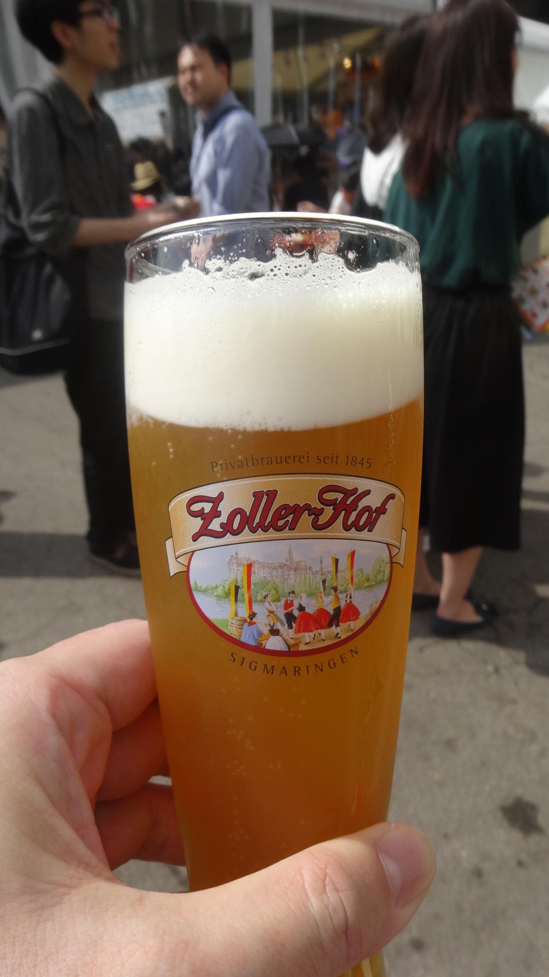 香草が入ったビール