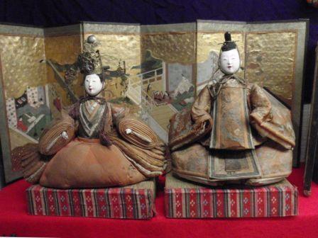 京都の雛人形の写真