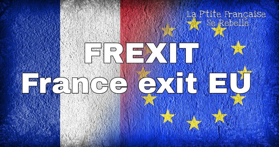 Frexitを訴えるポスター