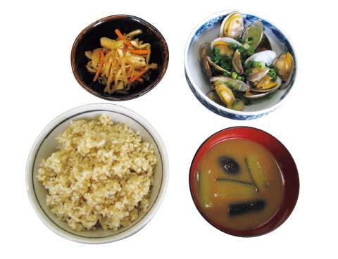 1960年頃の日本食