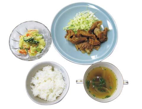 現在の日本食