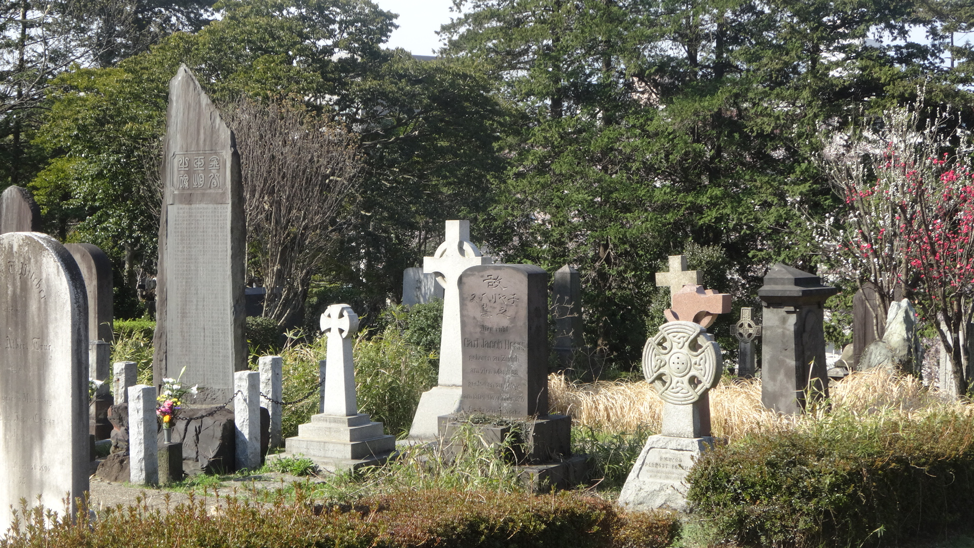 ケルト形式の墓石の写真