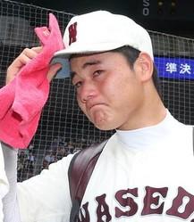 負けて涙を流す幸太郎君