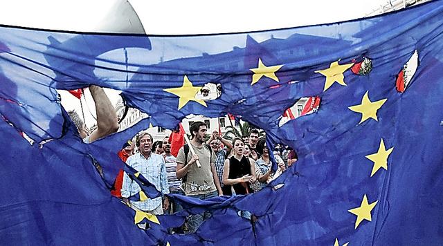 反EUのデモ
