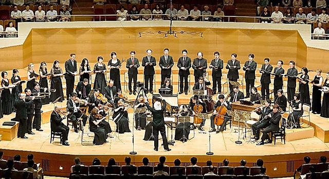 バッハ・コレギウム・ジャパンの演奏風景