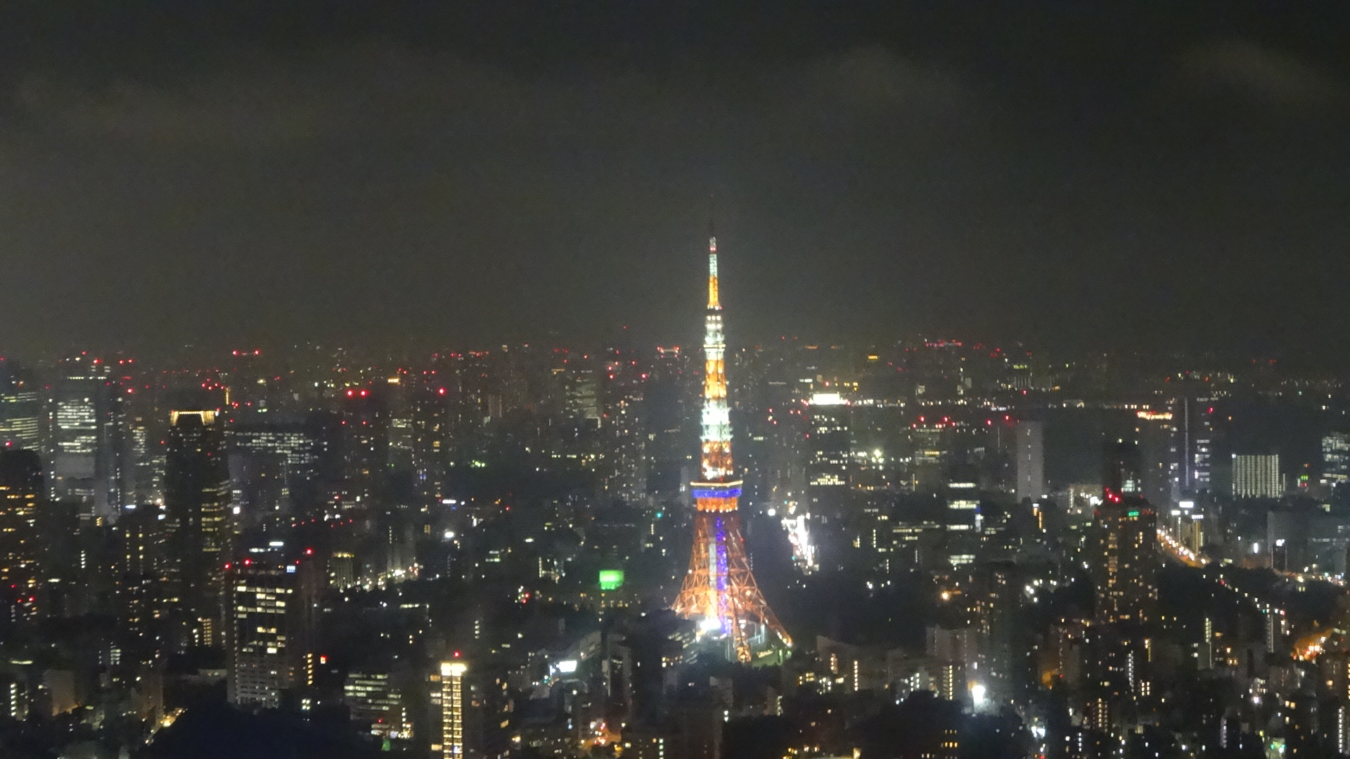 東京の夜景1