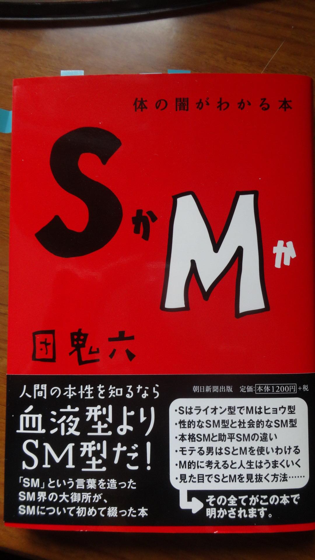 >「体の闇がわかる本:SかMか」 の表紙