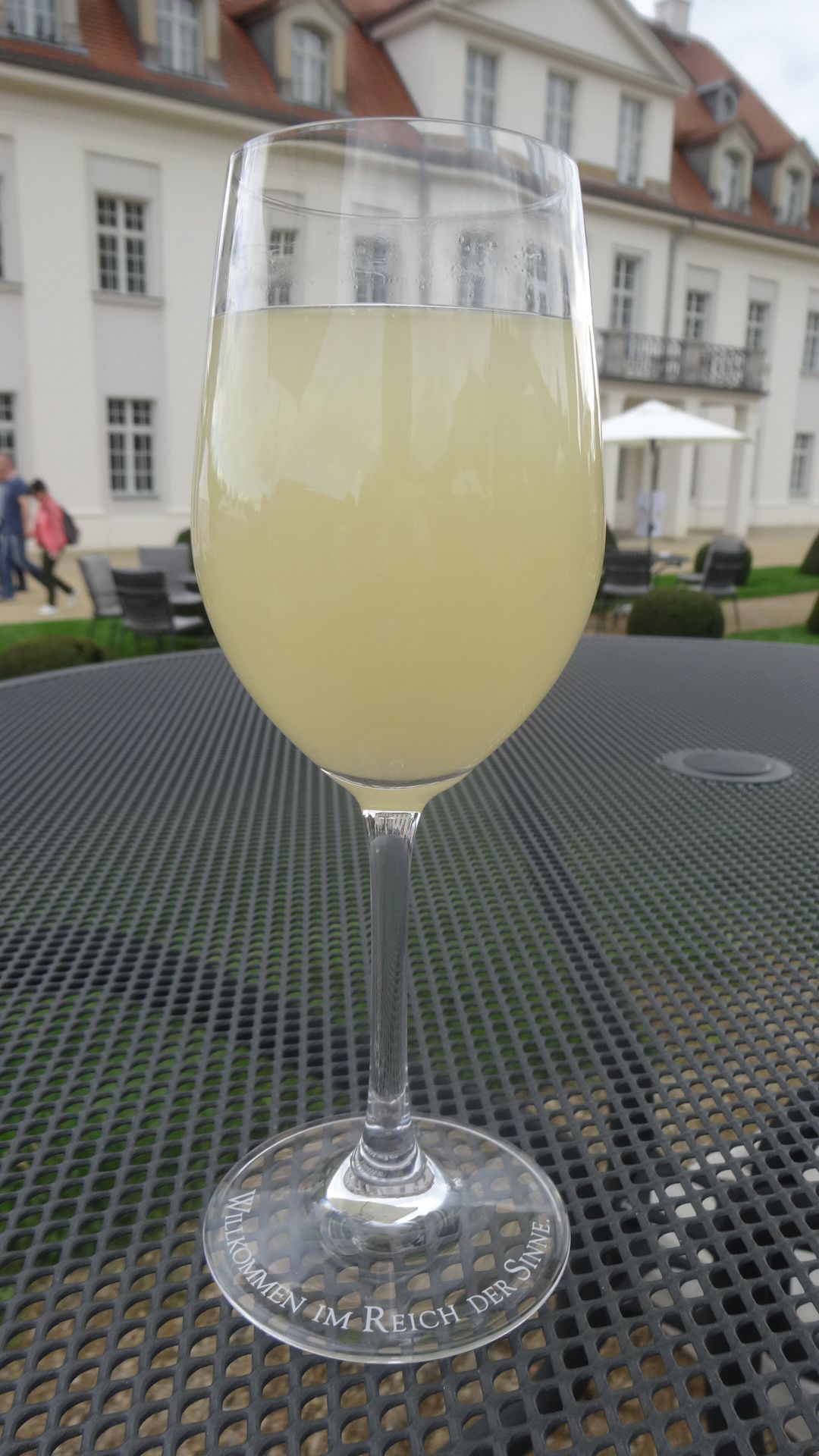 新酒が注がれたグラス
