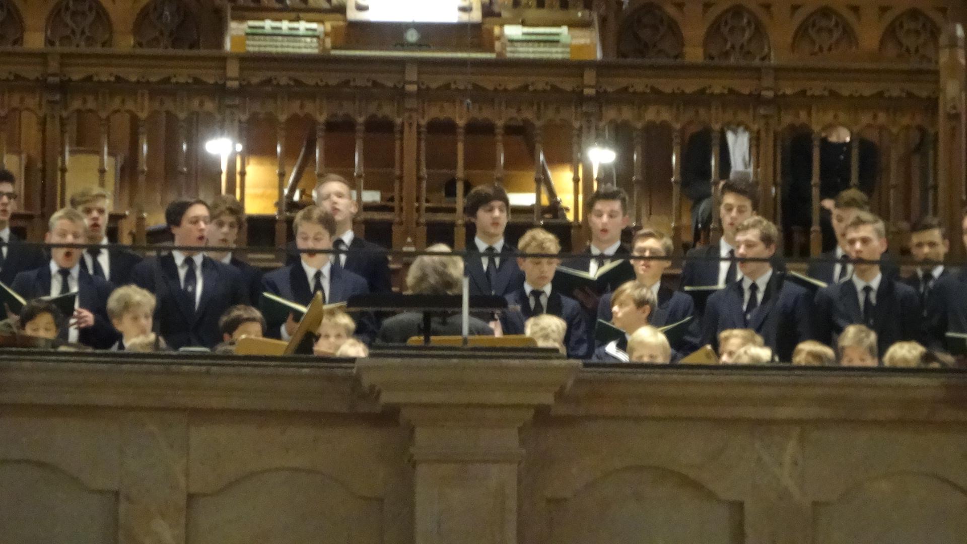 聖トーマス教会合唱団の若者たち