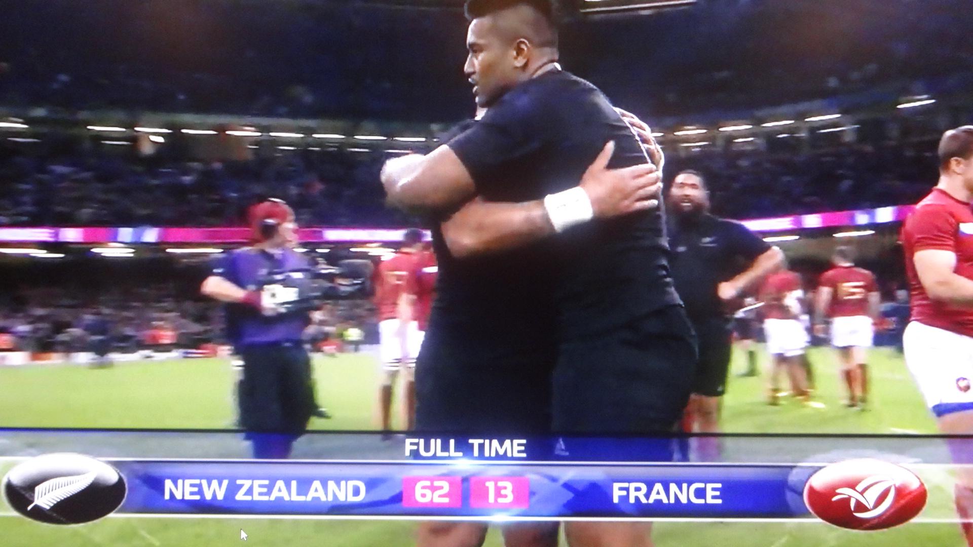 フランスに圧勝したオールブラックス