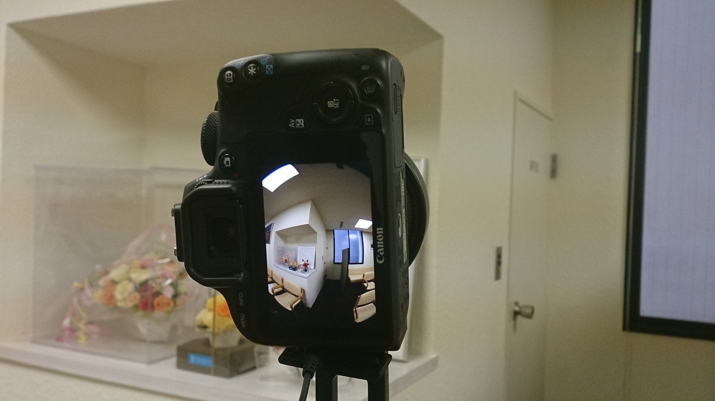 魚眼レンズのカメラ