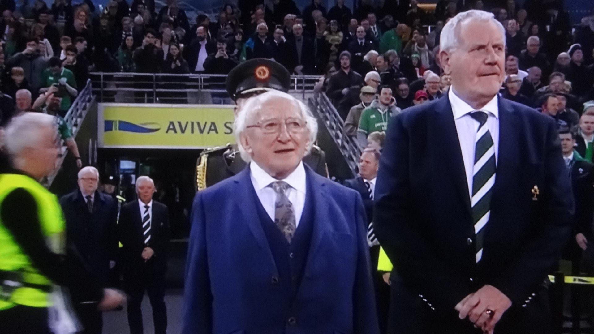 アイルランドの大統領の写真