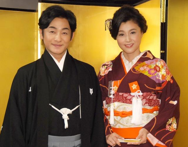 京都での愛之助さんと藤原紀香さんの結婚式の様子2