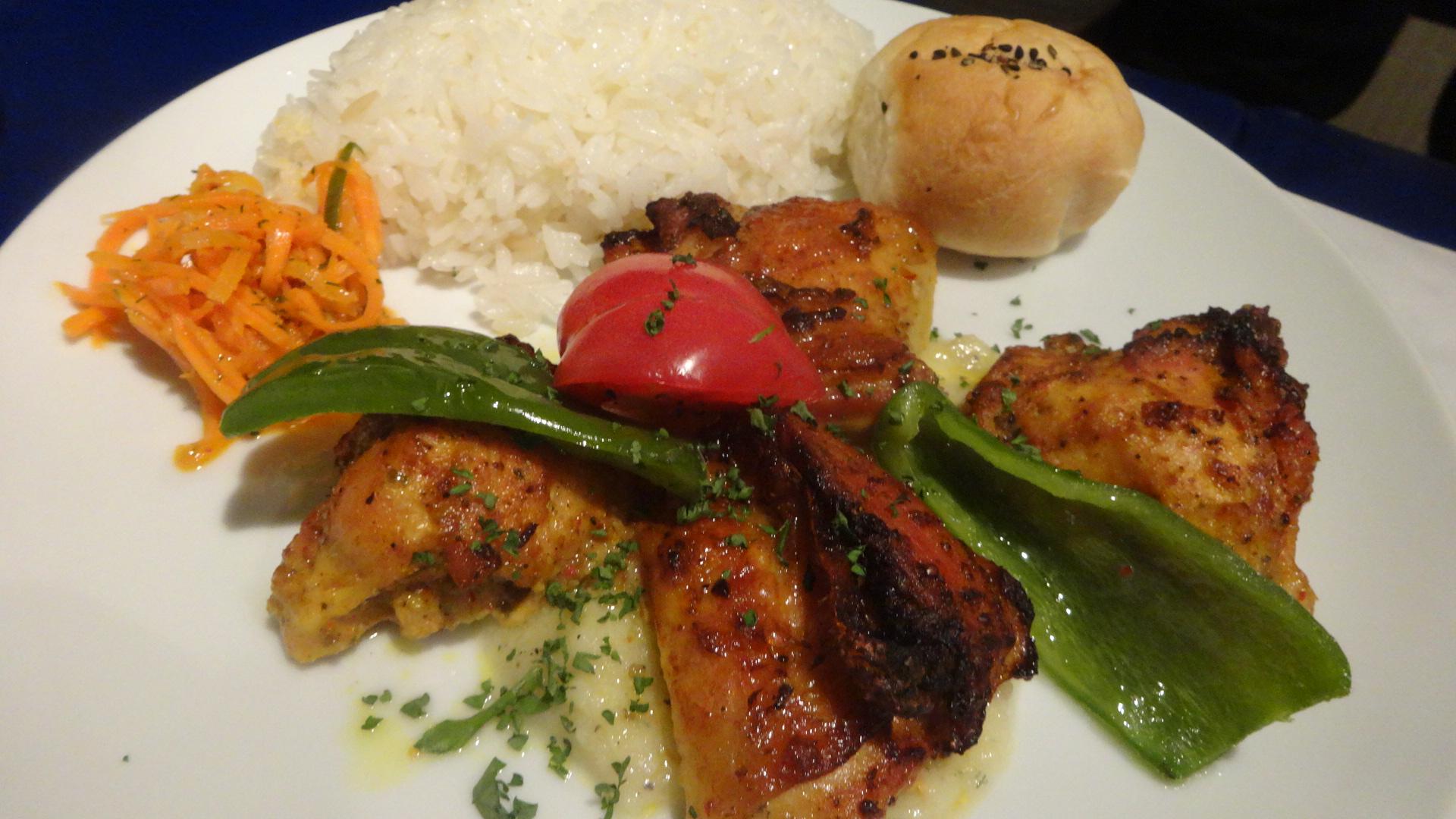 チキンのオーブン焼きの写真
