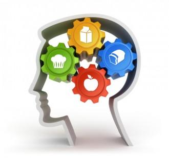 食欲を感じている脳の内部