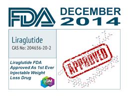 FDAが発行したLiraglutideの承認証
