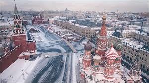 モスクワの冬景色