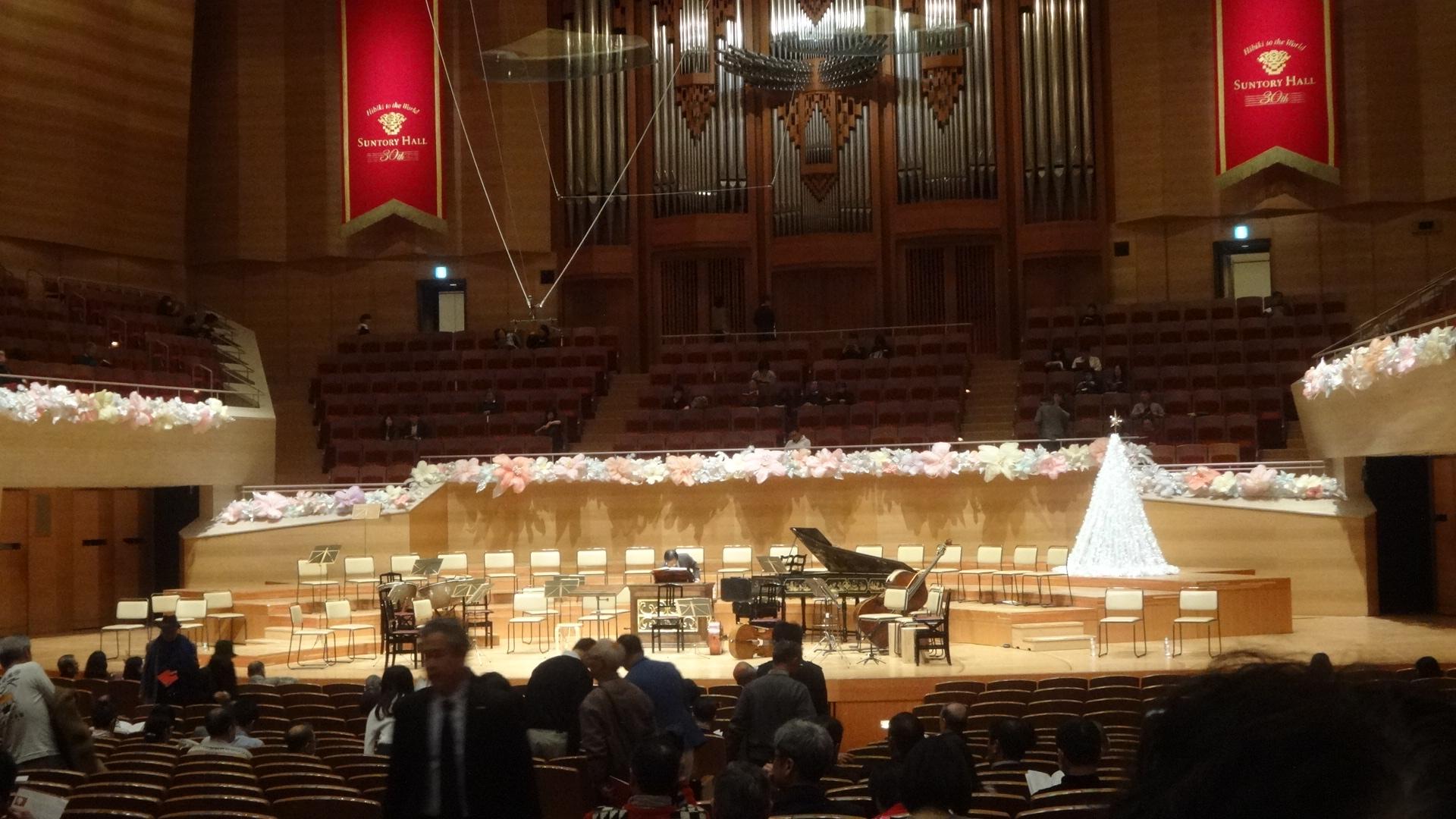 ステージの装飾
