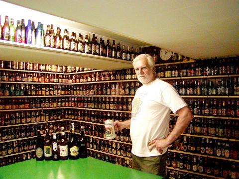 ビールのコレクター