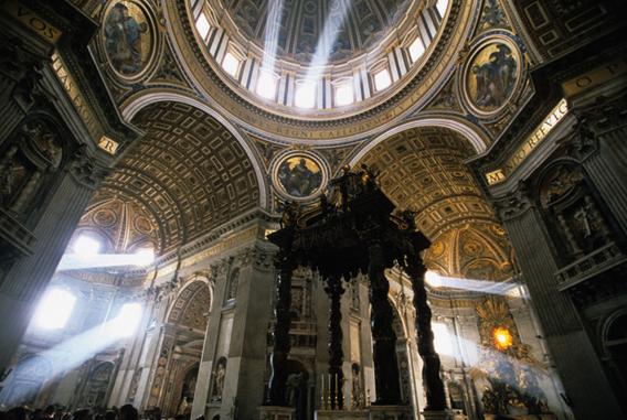 サンピエトロ寺院の写真
