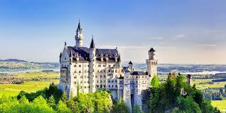 ノイシュバンシュタイン城の光景