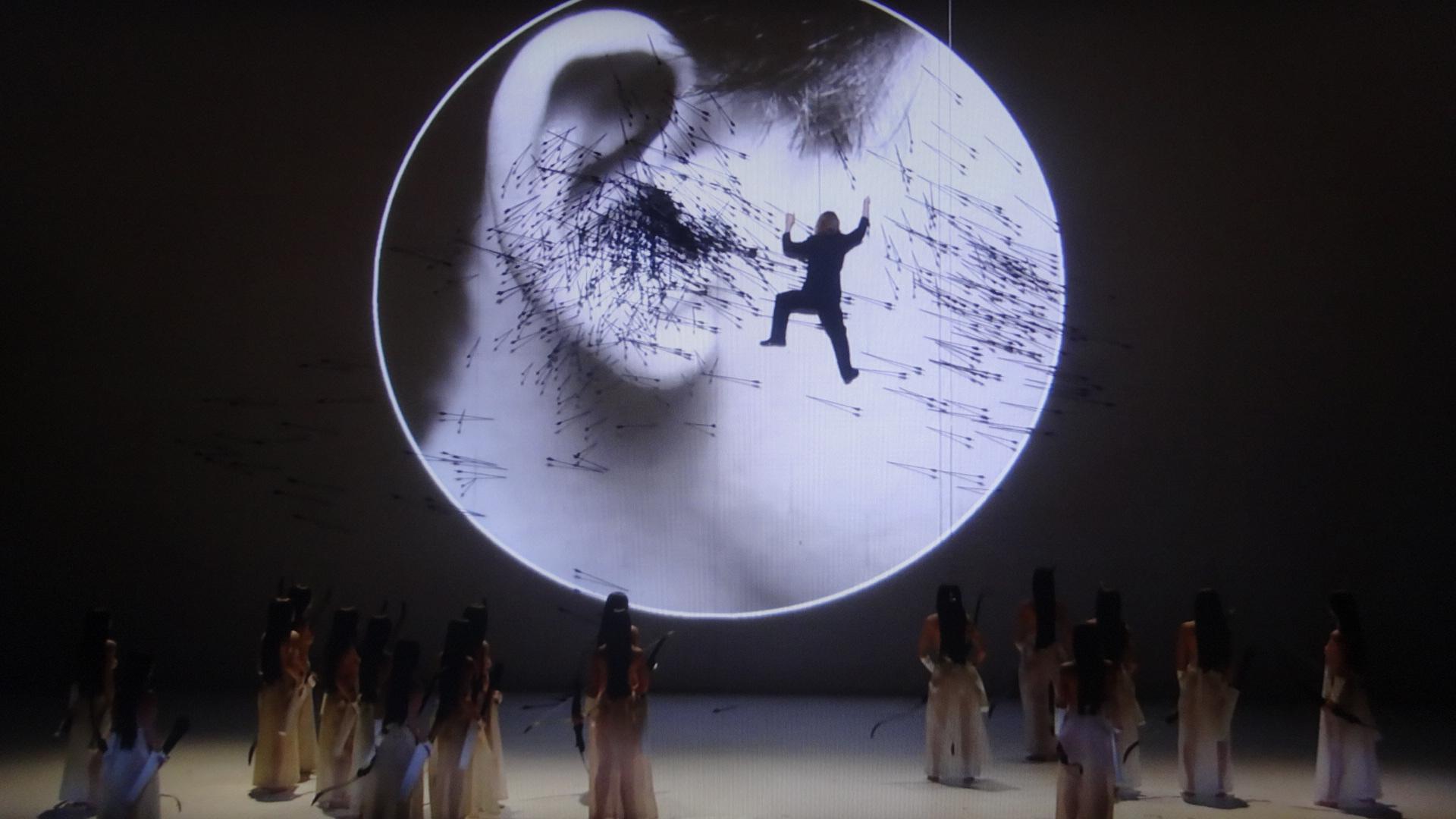 ワーグナーのタンホイザーの舞台のシーン