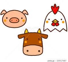 牛 豚 鶏