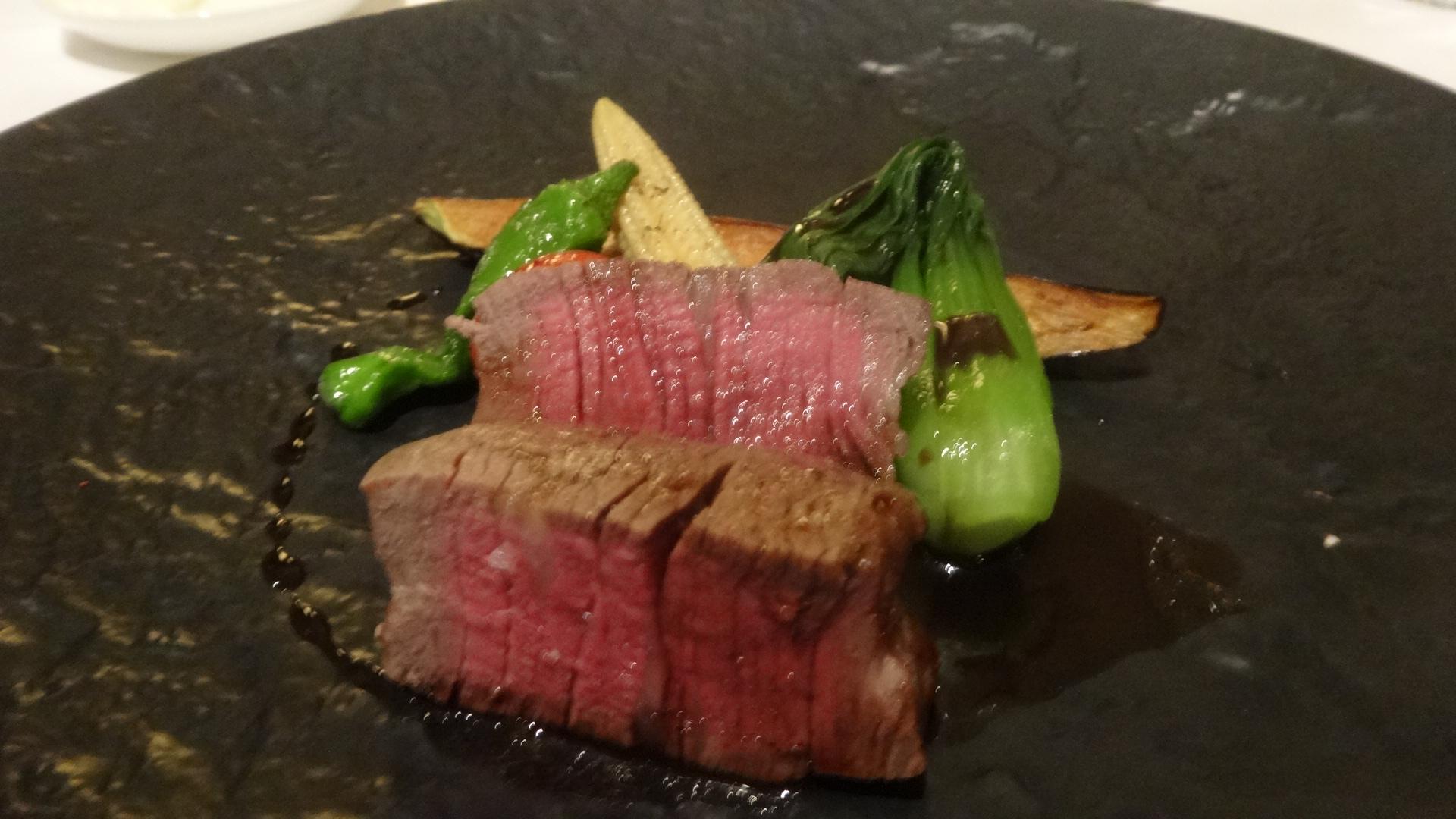 イチボのお肉の写真