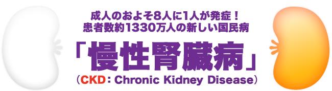 慢性腎臓病をご存知ですか?