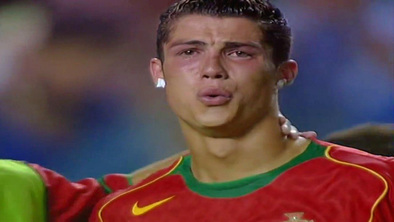ピッチ上で泣きじゃくっていたクリスチャーノ・ロナウド