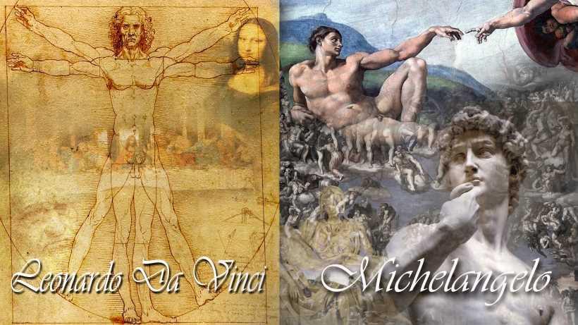 dvsm03ダヴィンチ ミケランジェロの作品