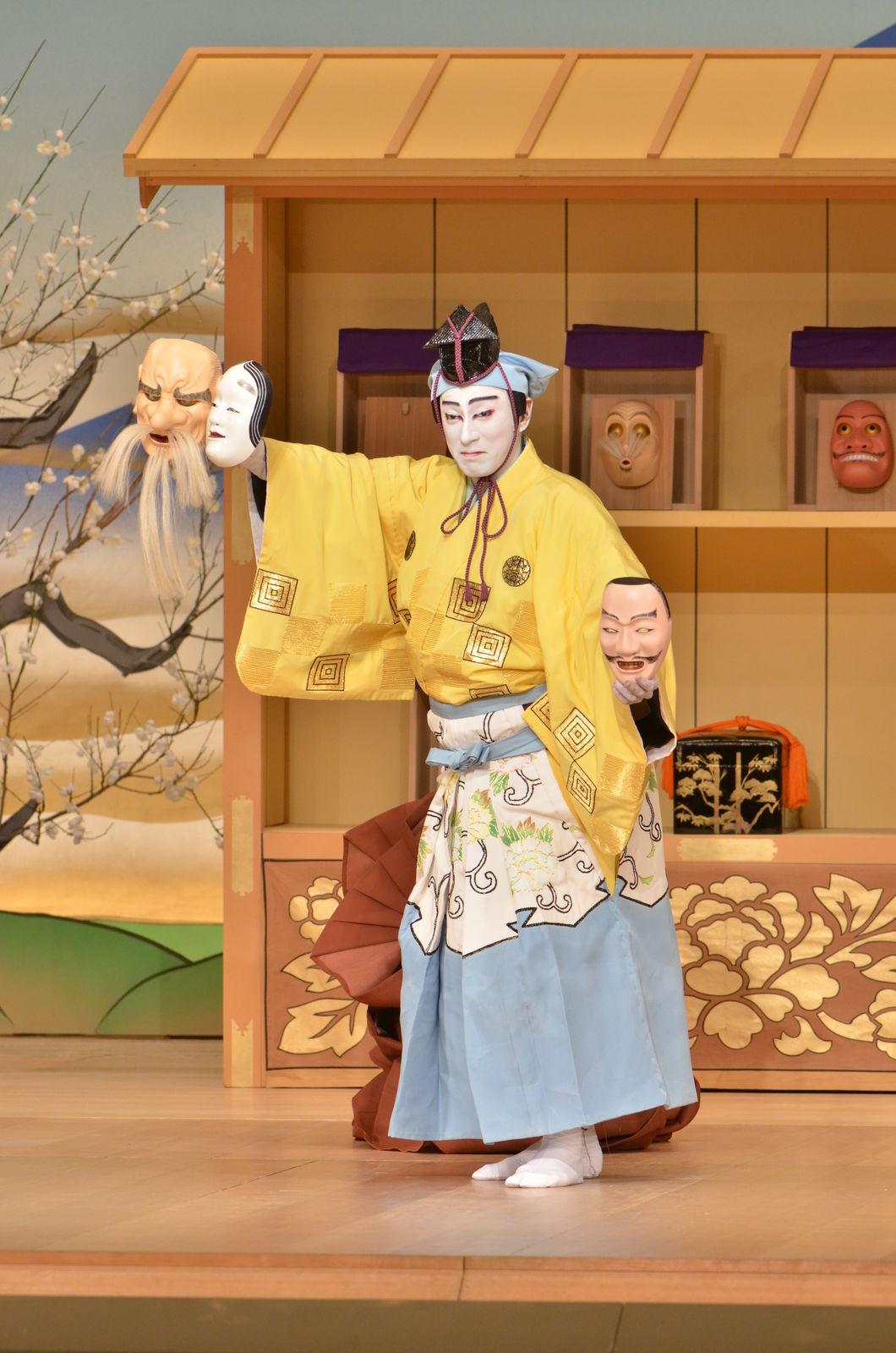 コミカルに踊る海老蔵さん