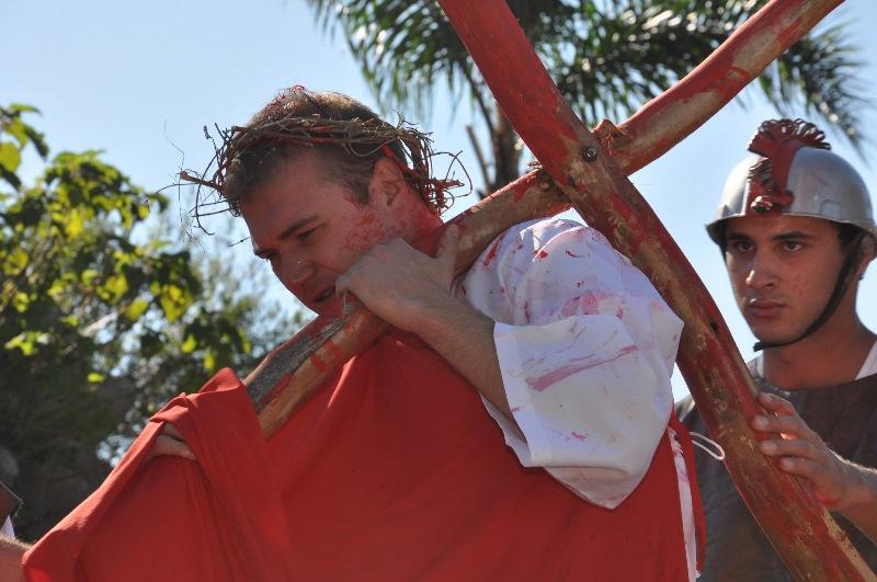 十字架を背負うキリスト