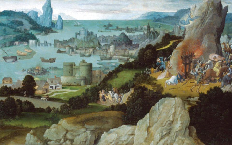 聖カタリナの殉教をモチーフにした作品