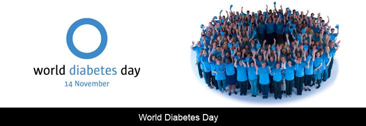 世界糖尿病デーのポスター
