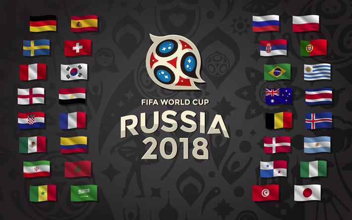 参加国の国旗が全てプリントされたポスター