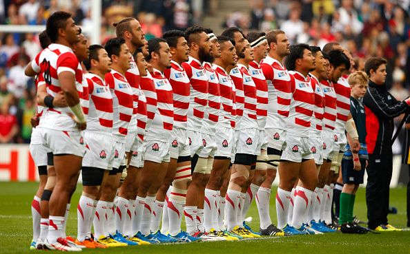 名前を漢字でなくカタカナで示される選手がたくさんいるラグビー日本代表チーム