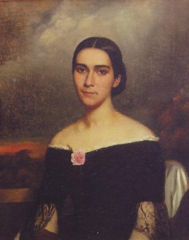 クレオールの女性の肖像画