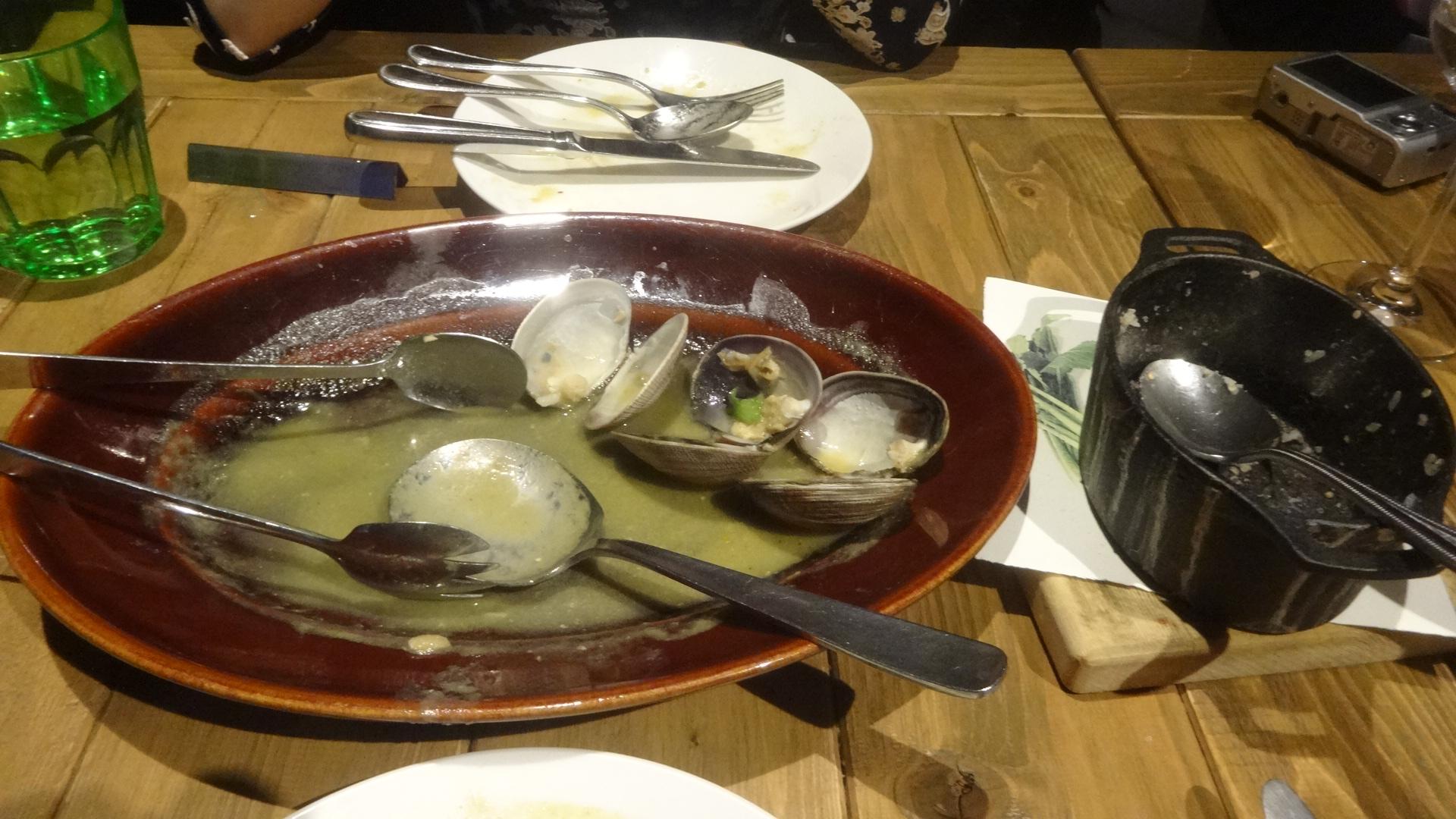 完食した後のお皿
