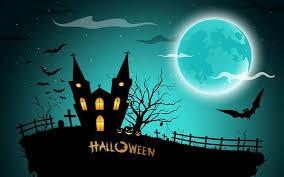 ハロウィン直前の満月の夜